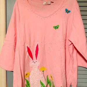 Quicker Factory Easter  Bunny Shirt